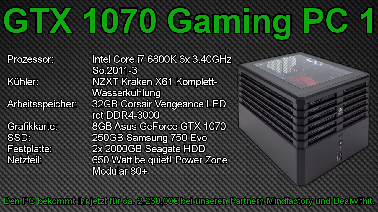 GTX 1070 Gaming PC 1